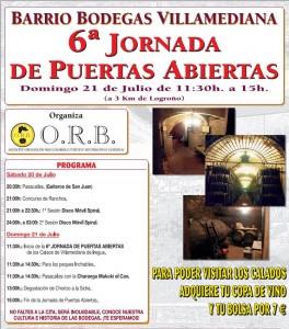 6ª Jornada puertas abiertas Villamediana