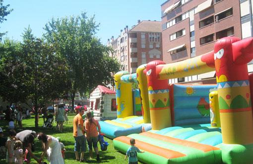Actividades infantiles en Murillo