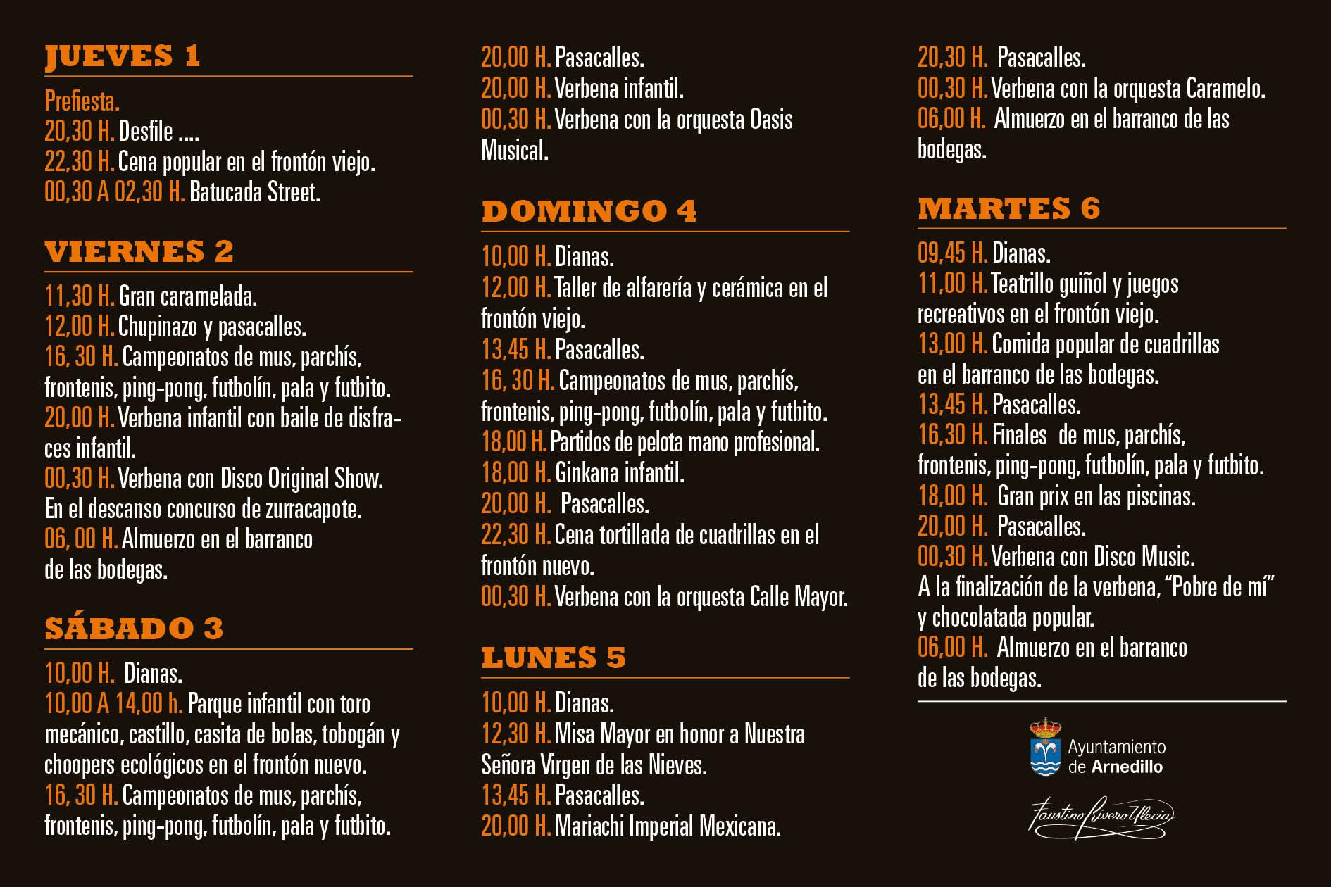 Fiestas Arnedillo 2013