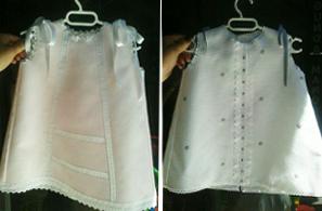 Se vende: vestidos para bebé a estrenar