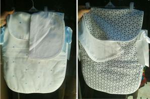 Se vende: sacos de coche reversibles a estrenar