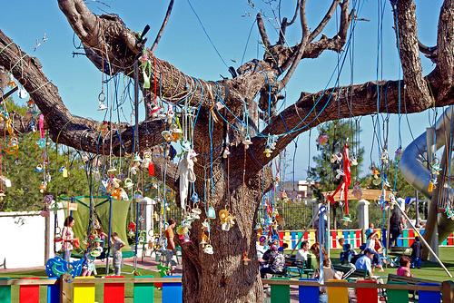 El Árbol de los Chupetes de Logroño