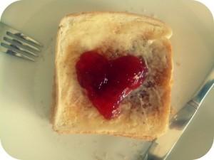 tostadas con amor