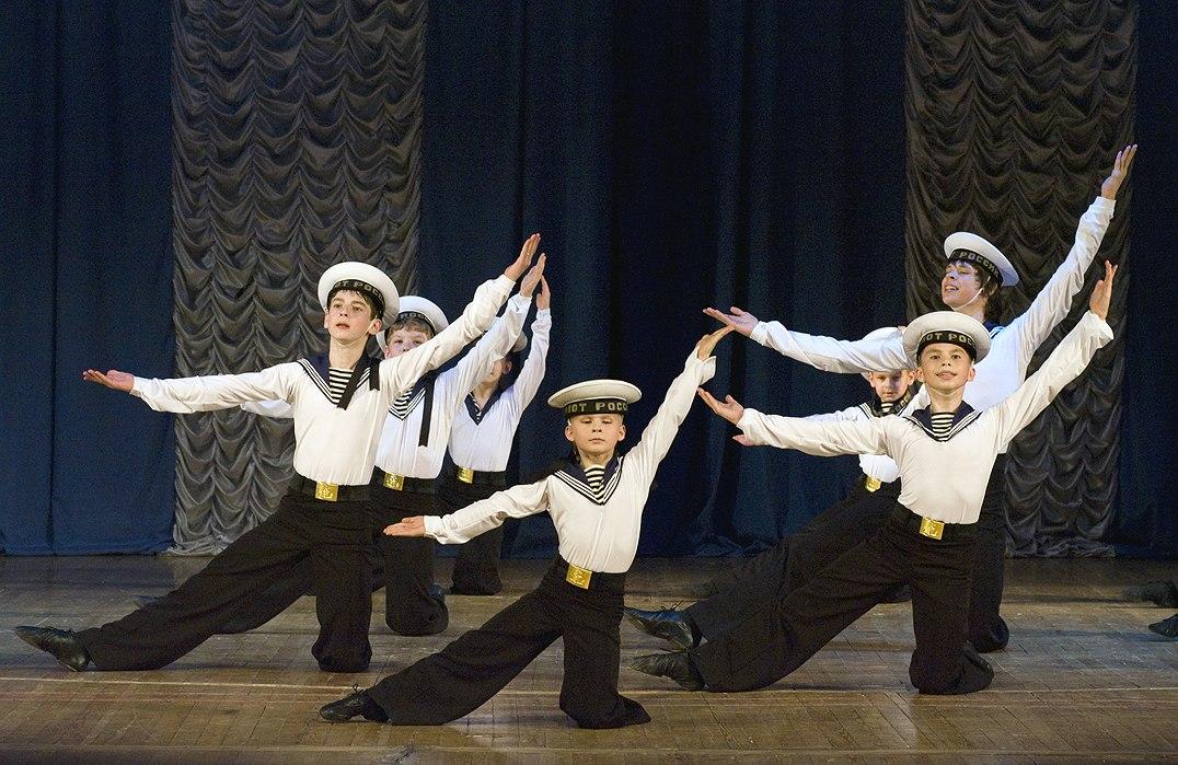Espectáculo de danzas rusas