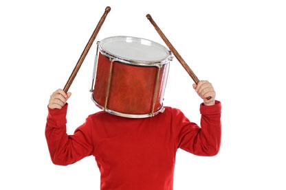 Percusión para niños en el Palacio de los Deportes