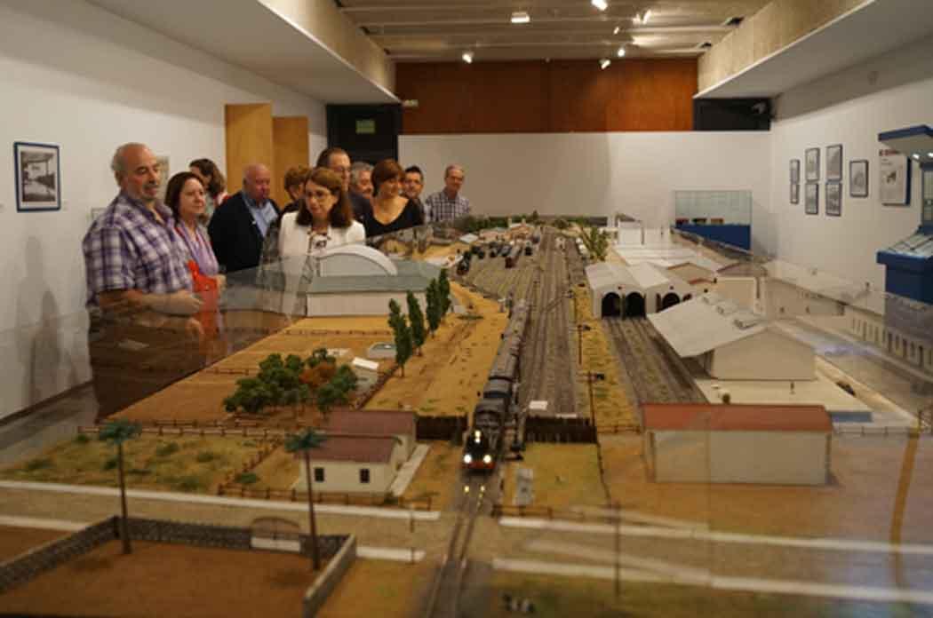 Exposición sobre la historia del ferrocarril