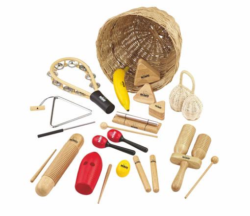 Instrumentos para niños de Nino Percussion