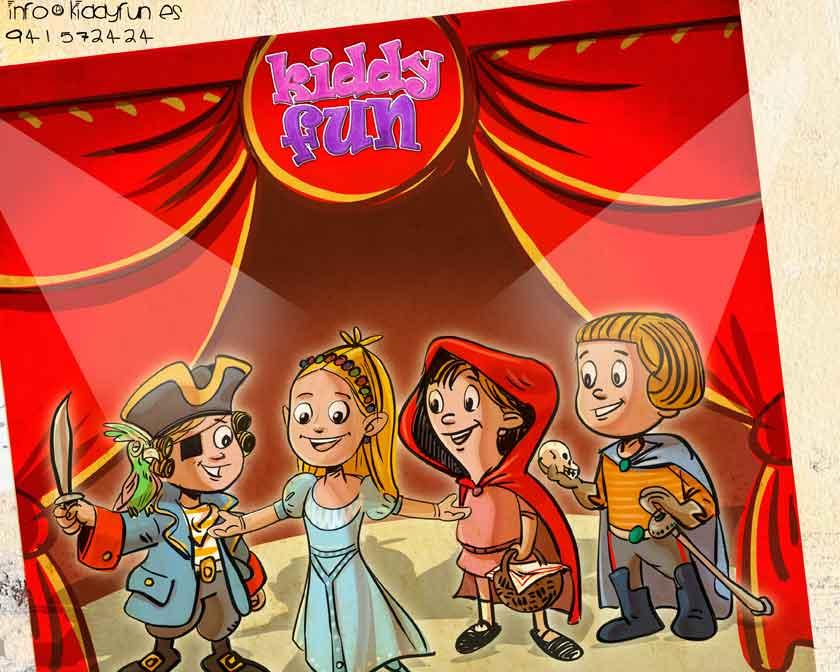 Curso de teatro en Kiddy Fun