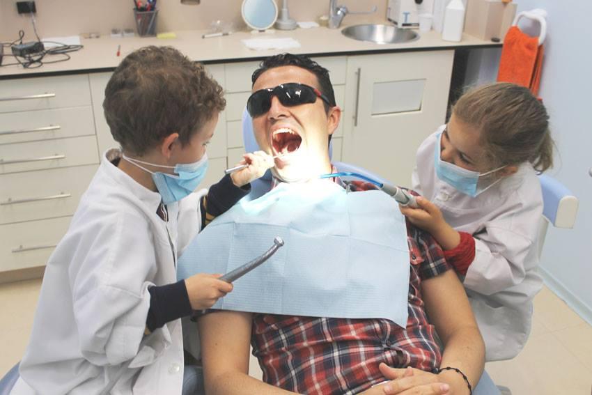 Se acabó pasar miedo en el dentista