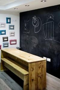 Niños bienvenidos en Hamburguesería Bococa Log