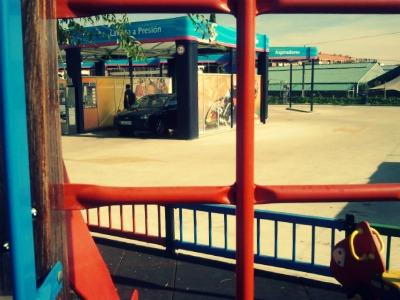Gasolinera Las Gaunas Niños bienvenidos