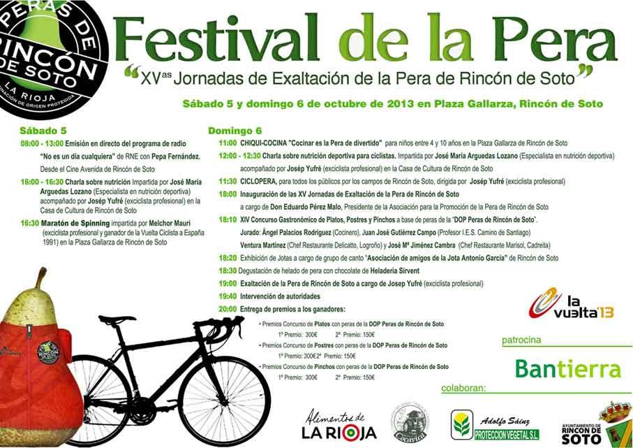 Festival de la Pera de Rincon de Soto