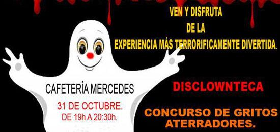 Fiesta de Halloween en cafetería Mercedes