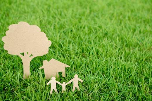 Artesanía para familias en Espacios Verdes