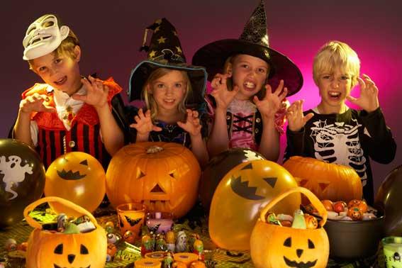 Taller de Halloween en Kiddy Fun