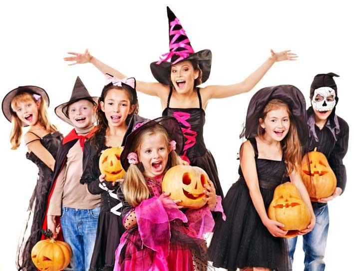Fiesta de Halloween en academia Mortimer