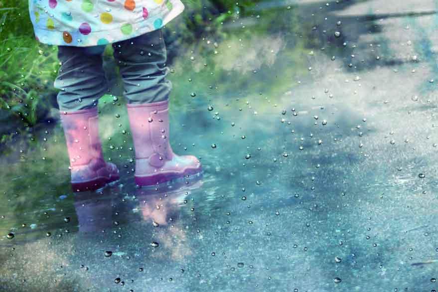 Planes con bebés (12-36 meses) para una tarde de lluvia