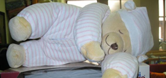 Se vende: osito babi age, ayuda a conciliar el sueño