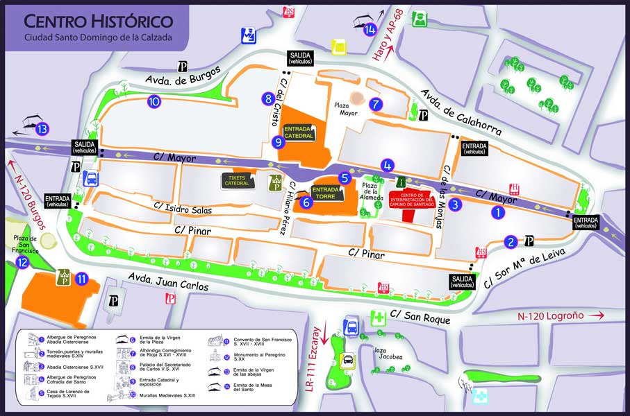 Mapa-Centro-Histórico-Santo-Dominog-de-la-Calzada