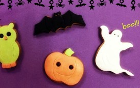 Receta de galletas para Halloween
