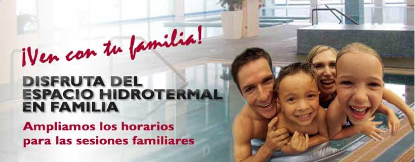 Relájate en familia en el SPA de Lobete