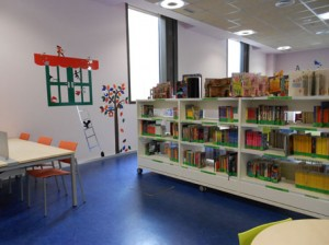 Bebeteca en la biblioteca Rafael Azcona Logroño
