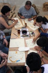 talleres-en-familia San Millan de la Cogolla