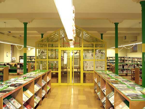 Sala Infantil Biblioteca de La Rioja Logroño