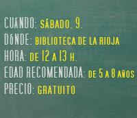 Cuentacuentos en portugues en la Biblioteca de La Rioja
