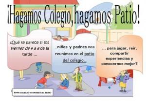 Iniciativa del colegio Navarrete el Mudo Logroño