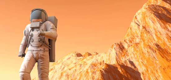 Todo sobre Marte en La Casa de las Ciencias