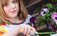 Taller infantil de jardinería en Espacios Verdes
