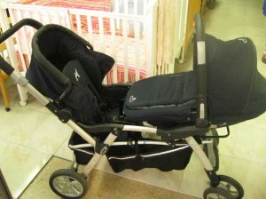 carrito para gemelos segunda mano en Logroño