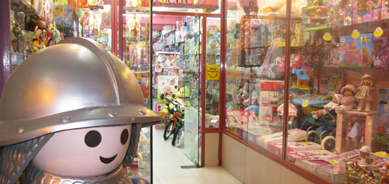 Servicio de reserva de juguetes en Magal