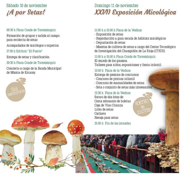 Jornadas micologicas ezcaray