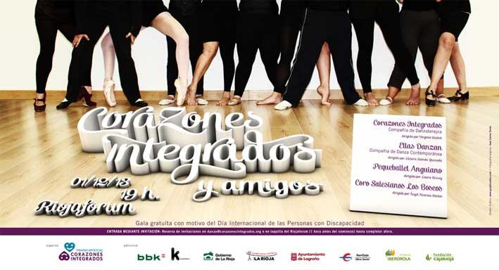 Gala danza Dia Internacional Discapacidad