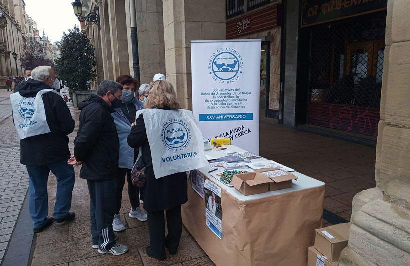 Supermercados en los que donar para la Gran Recogida de Alimentos de La Rioja