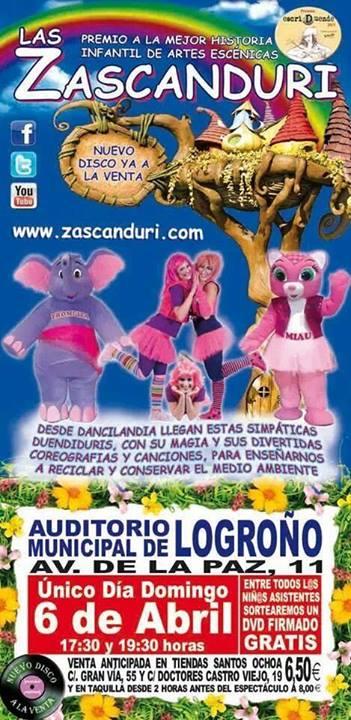 Zascanduri en Logroño