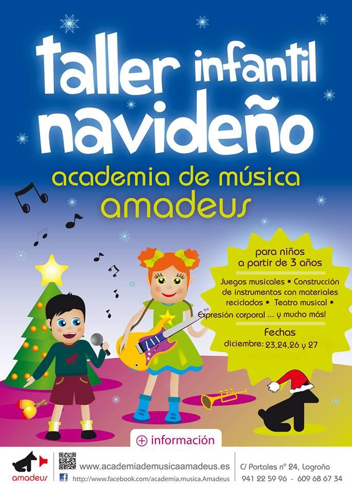 Taller musical navideño en Amadeus