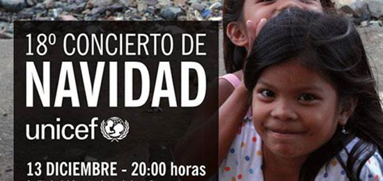 Concierto de Navidad a beneficio de UNICEF