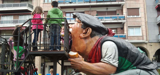 Animación infantil en el centro de Logroño