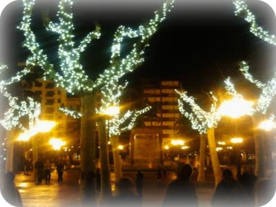 Encedido de las luces de Navidad