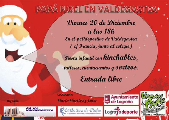 Fiesta de Navidad en Valdegastea