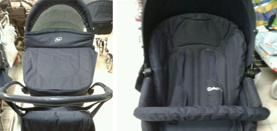 Se vende: cochecito y silla Arrúe