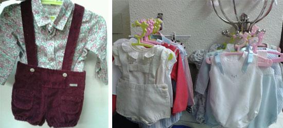 Se vende: ropita para bebés y niños