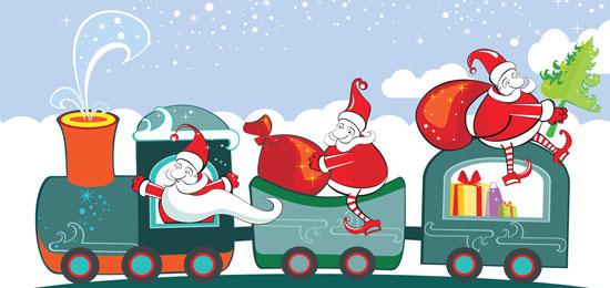 El Tren de la Navidad ¡a toda máquina!