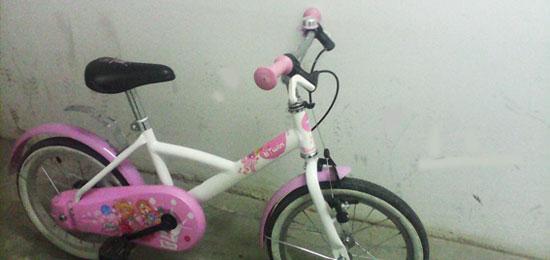 Particular vende: bicicleta niña (+4 años)