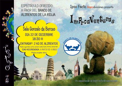 Teatro infantil para banco alimentos La Rioja