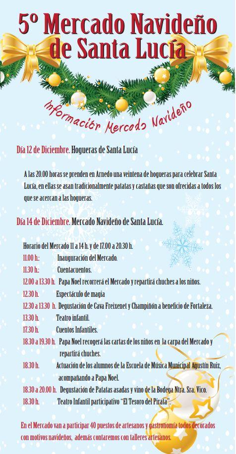 Mercado navideño Santa Lucia Arnedo