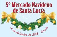 Mercado navideño en Arnedo